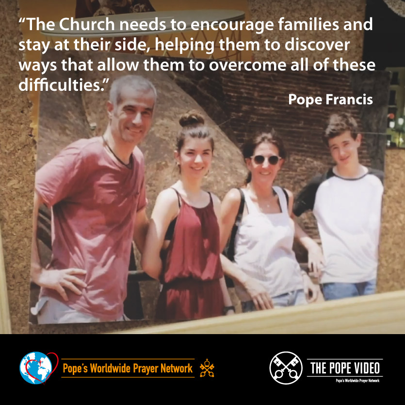 What can we do to defend families? @Pontifex gives us some advice: accompany them with love and respect. #Families #AccompanyWithLove #ThePopeVideo @LaityFamilyLife youtube.com/watch?v=IGZJRu…