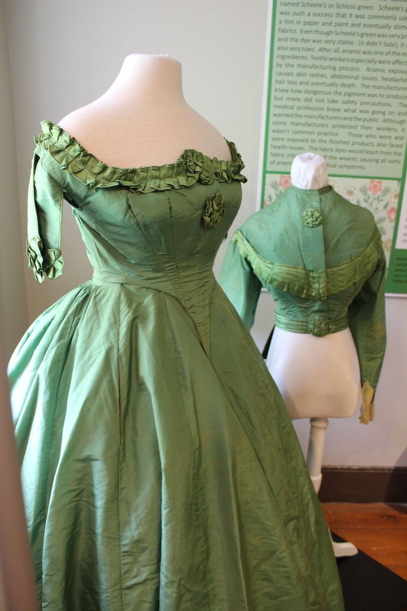 cruel green dress