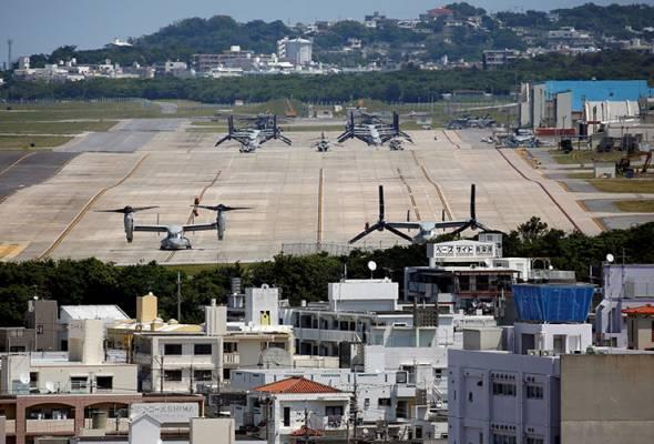 Okinawa tuntut perketatkan langkah pencegahan di pangkalan AS #AWANInews #AWANI745 https://t.co/44Dlmqhwmz https://t.co/dsJaRzKZo5