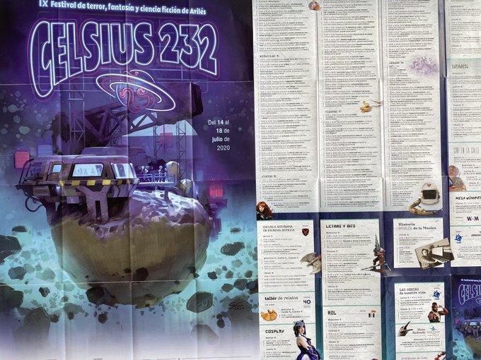 Programa del Celsius 232 2020