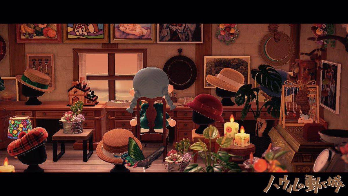 ソフィーの帽子屋👒👗#あつまれどうぶつの森 #AnimalCrossing