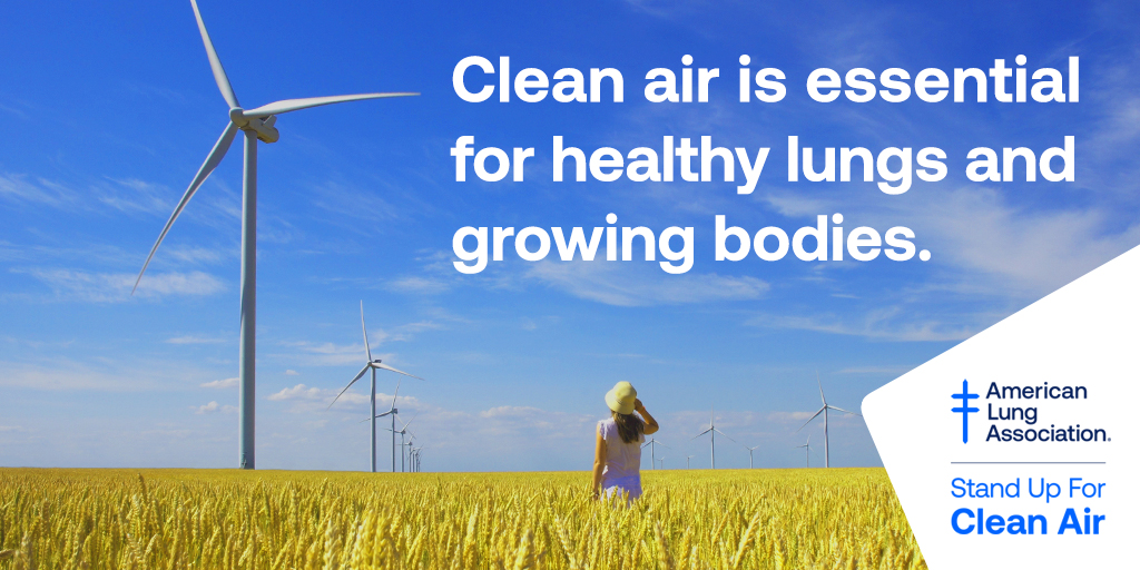 The U.S. is celebrating 50 years of the Clean Air Act. Yet despite great progress, nearly half of Americans are living with unhealthy air. We have work to do. Join @LungAssociation to Stand Up For Clean Air. https://t.co/sQezbDs3jd https://t.co/saNgOXmN5A