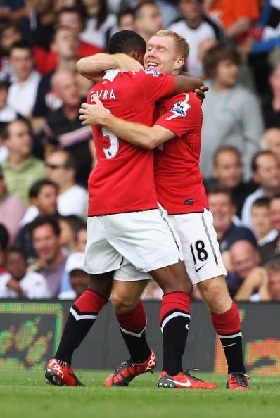 My first 6 month at @ManUtd... Paul Scholes: Patrice I think we should send you back for free to @AS_Monaco I really think we were a jockey 🏇 when Utd bought you... I just want to say thank you for the #motivation ❤️🙏❤️ #Ilovethisgame #positive4evra #manutd https://t.co/pHBlMBwYJa