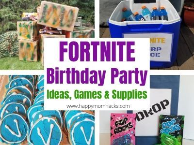 How to throw a Fortnite Virtual Party for your Kids. If your childs a gamer and cant share his birthday with friends this year. Hell love this Virtual Party! #kids #fortnite #kidsactivities #birthdayboy #birthdayparty #Virtual buff.ly/2ZYZGqm