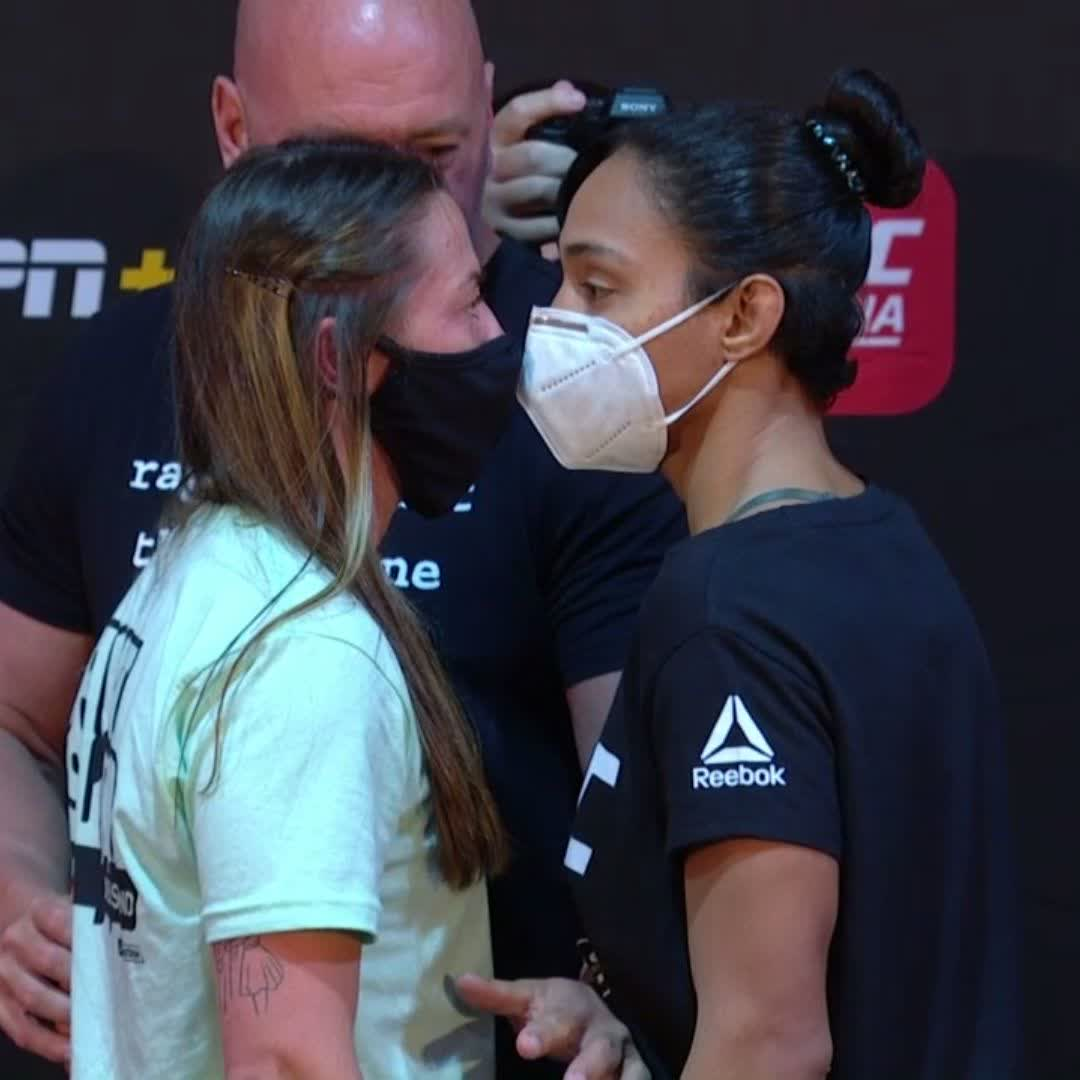The fighting pride of Liverpool! 👊  💙 @MeatballMolly searches to move up the flyweight rankings against 🇧🇷 @Tailasa60780340 at #UFCFightIsland1  🏝️ #InAbuDhabi | @VisitAbuDhabi https://t.co/hNfzPGF9US