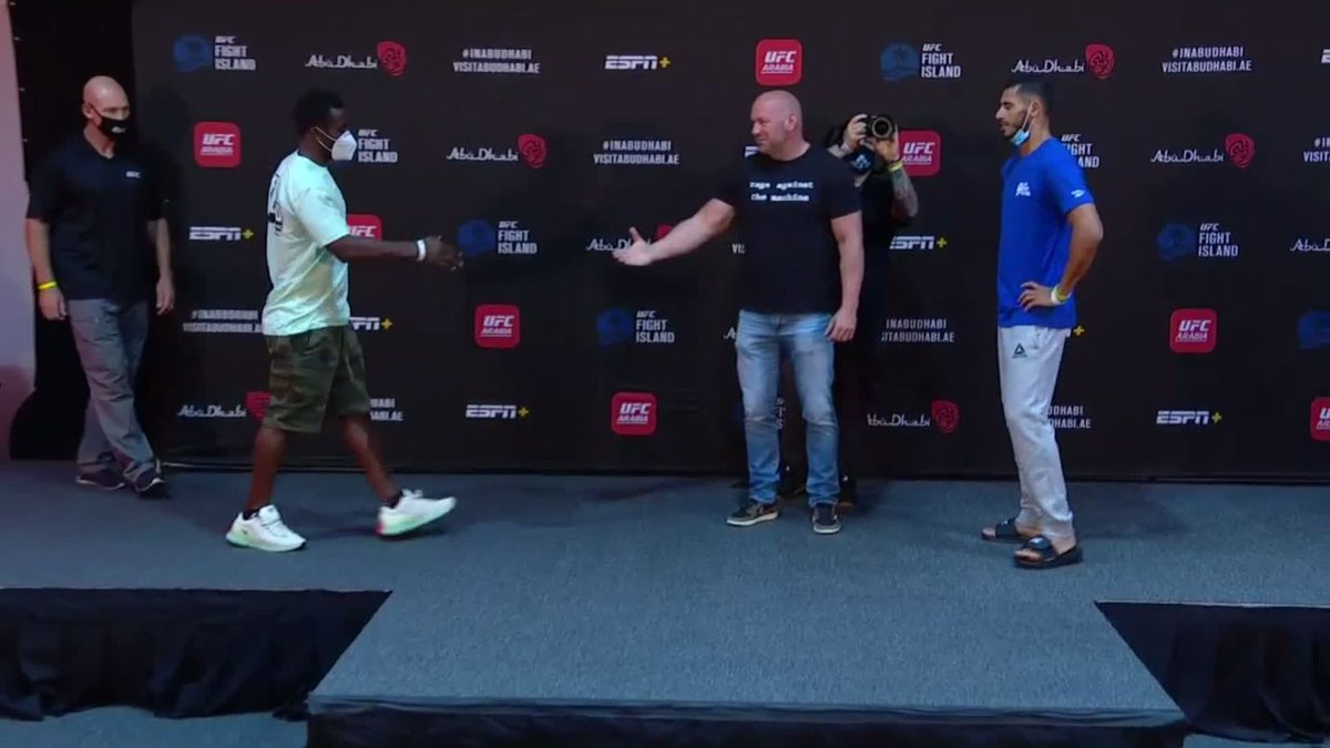 Las 170 libras abren las estelares con: Abdul Razak Alhassan VS Mounir Lazzez #UFCFightIsland1 https://t.co/AFsBnEAZzz