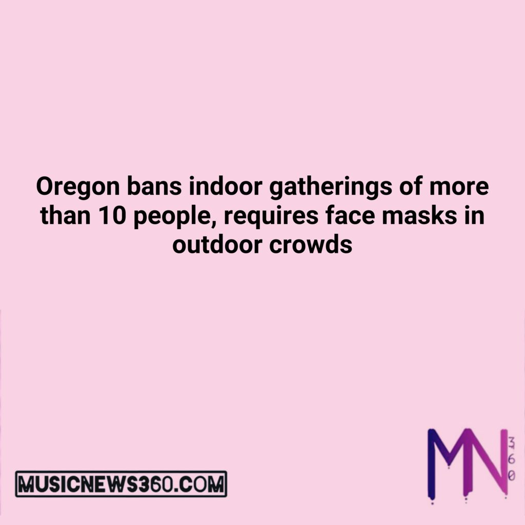Oregon bans indoor gatherings of more than 10 ... $AAPL $AMZN $BTC $ETH $FB $GOOG $MSFT $QQQ $SPY $TSLA #cnbc #foxbusiness #business #money #entrepreneur #trading #investing #investment #stock #stockmarket #forex #crypto #cryptocurrency #Bitcoin #Ethereum #Coinbase #Robinhood