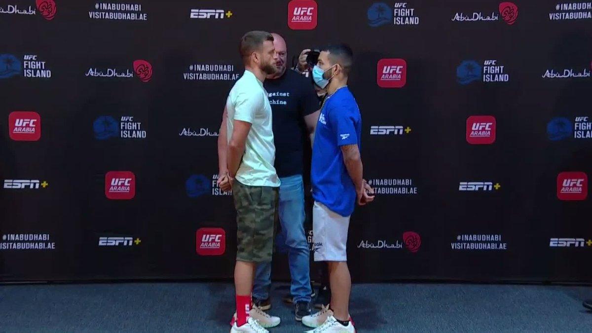 Y nuestro evento estelar de #UFCFightIsland1 en peso pluma los top Calvin Kattar y Dan Ige 🤜🤛 https://t.co/iEFrmwrV8Z
