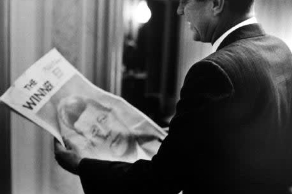 JFK 60 years ago today, Biltmore Hotel, Los Angeles, after nomination for President: #Lowe