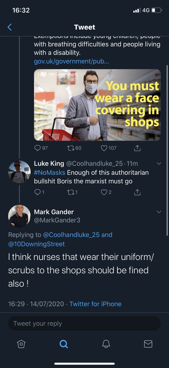 Shall we try this guy next? Yes let's fine out nurses who are on the front line and on shit pay... the far right must be stopped pic.twitter.com/FDUFEN0eNd