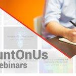 Image for the Tweet beginning: 2 new #CountOnUs webinars next
