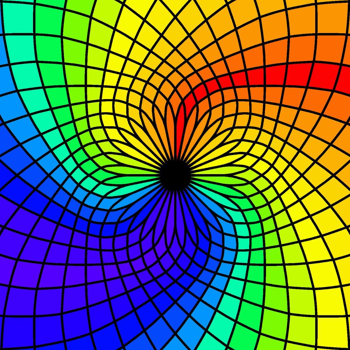 #digitalart #digital #art #photoshop #photoshopart #firealpaca #firealpacaart #fractal #symmetry #flow #rainbow #colours #shades #tones #red #orange #yellow #green #blue #purple #black #trippy #psychedelic #psychedelicart #staywell #bluespic.twitter.com/scwMrngvAX