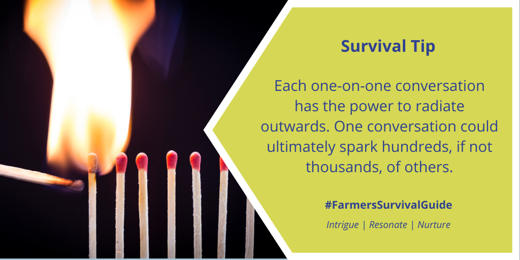 #TuesdayThoughts #FSGtip  #CdnAg #AgTwitter #agcomm  https://t.co/Gc8pfKvrZv for more #farmtoconsumerconvo tips. https://t.co/pyQ3zkr39j