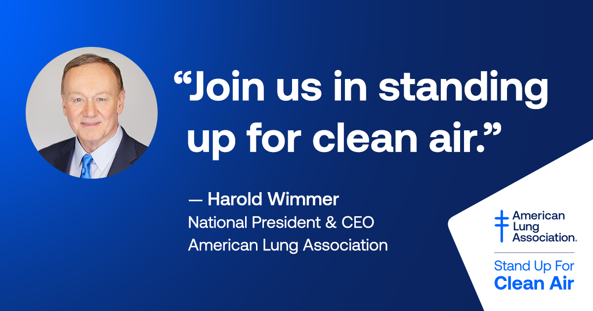 With climate change posing unprecedented challenges to protecting the nation's air quality, standing up for clean air has never been more important. That's why we're launching a new initiative calling for everyone to Stand Up For Clean Air. Learn more at https://t.co/1rdowtByfs https://t.co/Mle8yf8loP