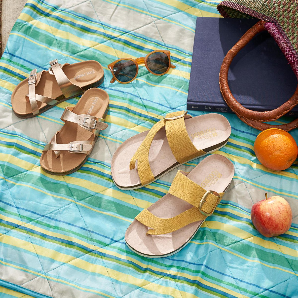 Cute & effortless sandals for wherever you and the kiddos are headed. https://t.co/coI27YmUHp