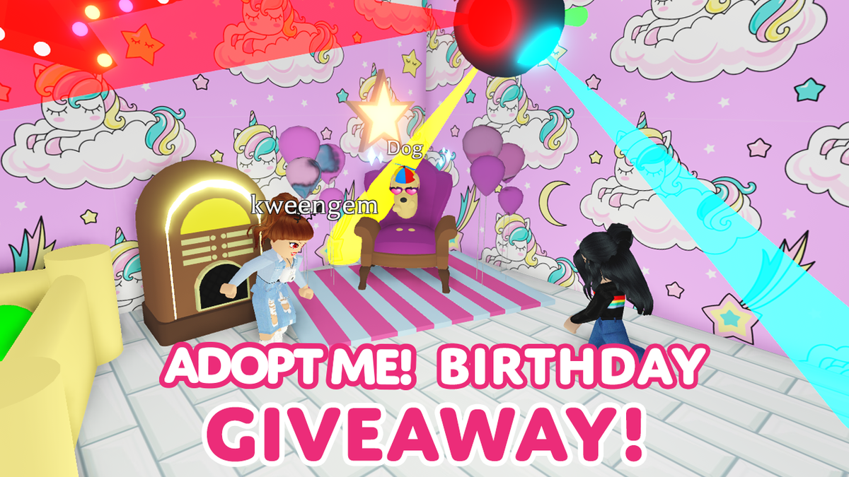 Adopt Me On Twitter Adopt Me Was Created 3 Years Ago Today Retweet This Post And Reply With Happy Birthday Adopt Me And Your Roblox Username For A Chance To Win