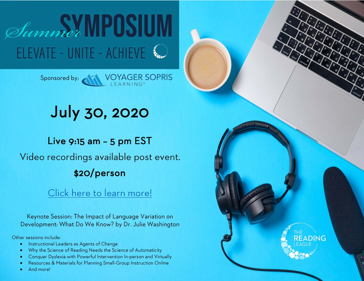 Mark your calendars and register today! eventbrite.com/e/summer-sympo…
