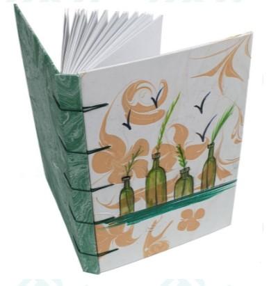 #CUADERNO #BOTELLAS #Encuadernaciónbelga de tapa dura y formato Ä5. La portada del cuaderno e.. Informacion: http://bit.ly/3ajIDDO #zocoup #hechoamano #artesanal #encuadernacion #original #cuaderno #scrapbooking #encuadernacionartesanal #bookbinding #ideaspararegalar #handmadepic.twitter.com/mo3BVFy8Rd