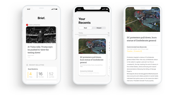 Brief's mobile news app aims to tackle information overload and media bias https://ift.tt/2CyY0M6 pic.twitter.com/bPU7YACGAa