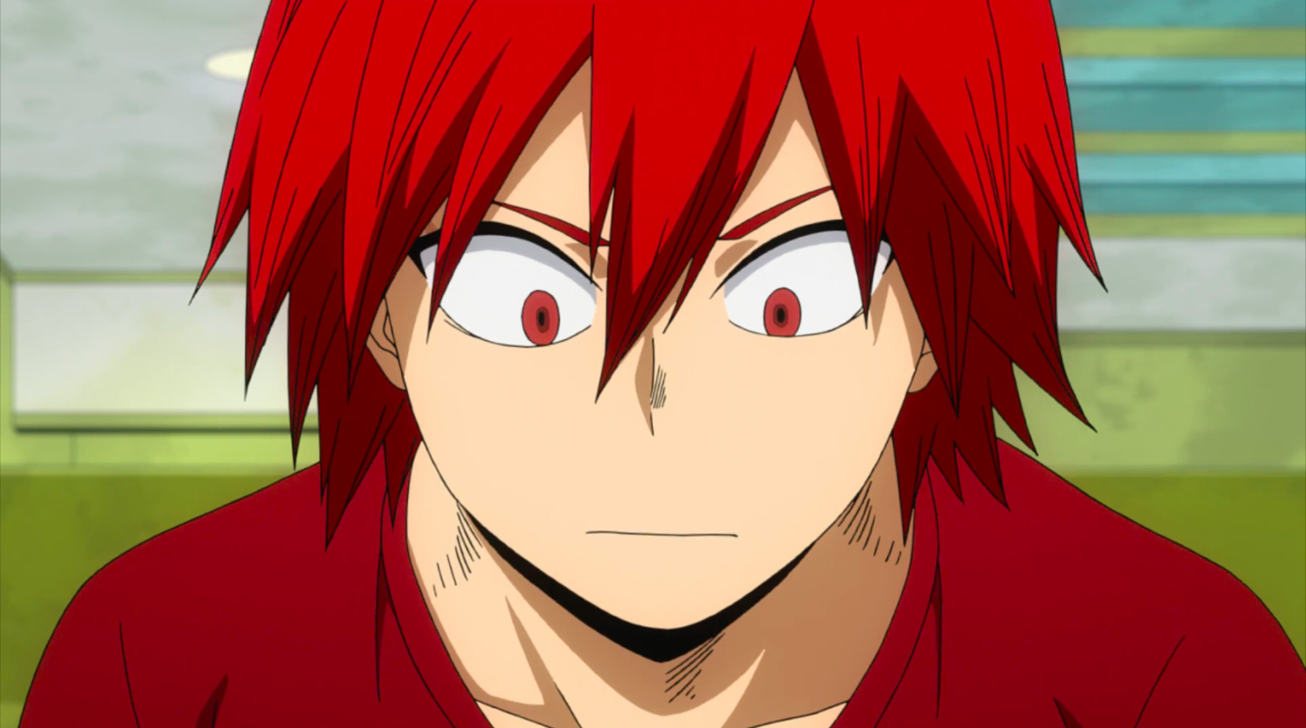 Glo Exams On Twitter Kirishima With His Hair Down