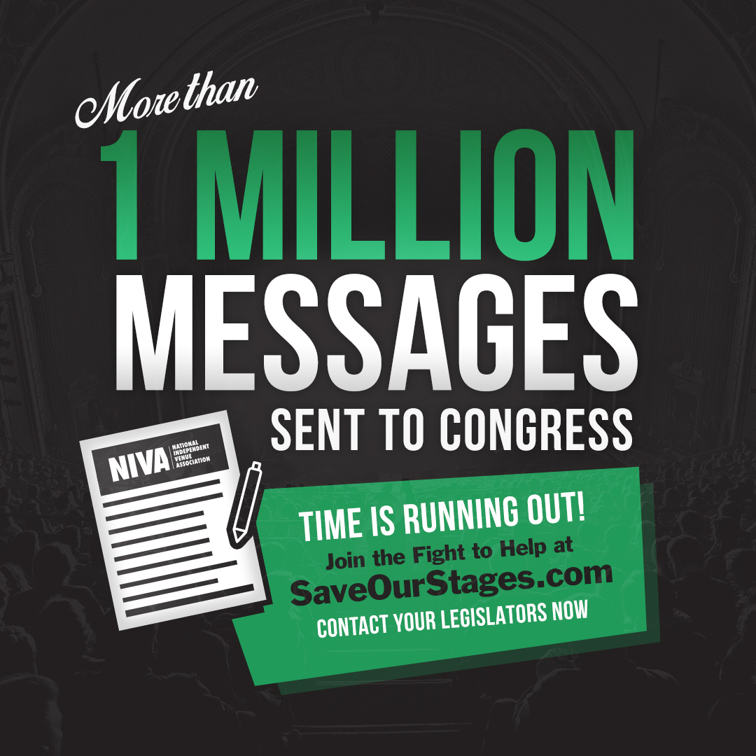 1 Million Emails Have Been Sent to Congress, Imploring Legislators To #SaveOurStages
