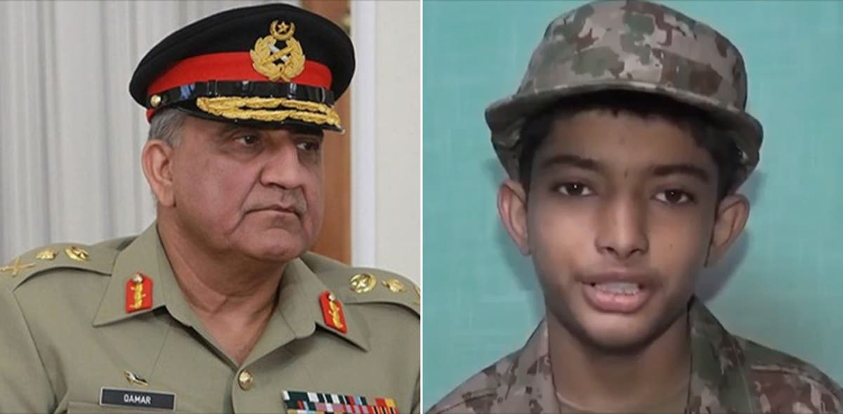 COAS Bajwa interacts with cancer patient who expressed wish to join Pakistan Army https://nation.com.pk/14-Jul-2020/coas-bajwa-interacts-with-cancer-patient-who-expressed-wish-to-join-pakistan-army…  #COASBajwa #PakistanArmy #DGISPR #AliRaza   @OfficialDGISPRpic.twitter.com/O27LAYoGgN