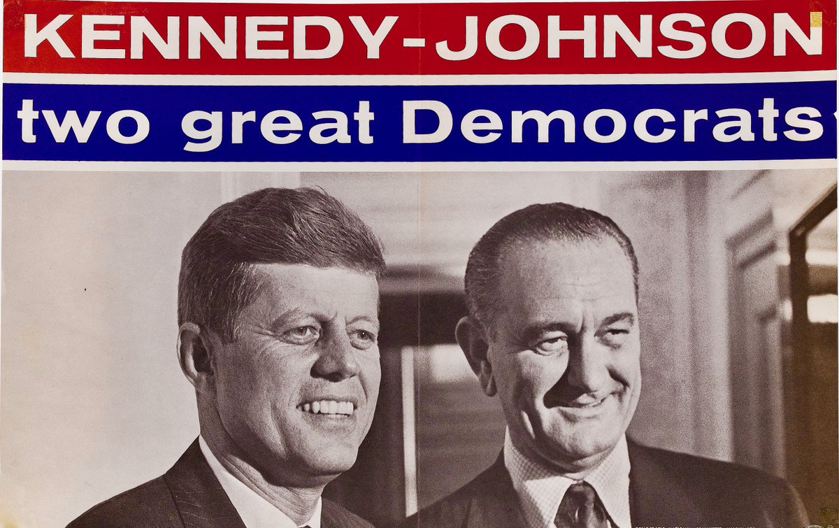 Poster for 1960 Democratic ticket: