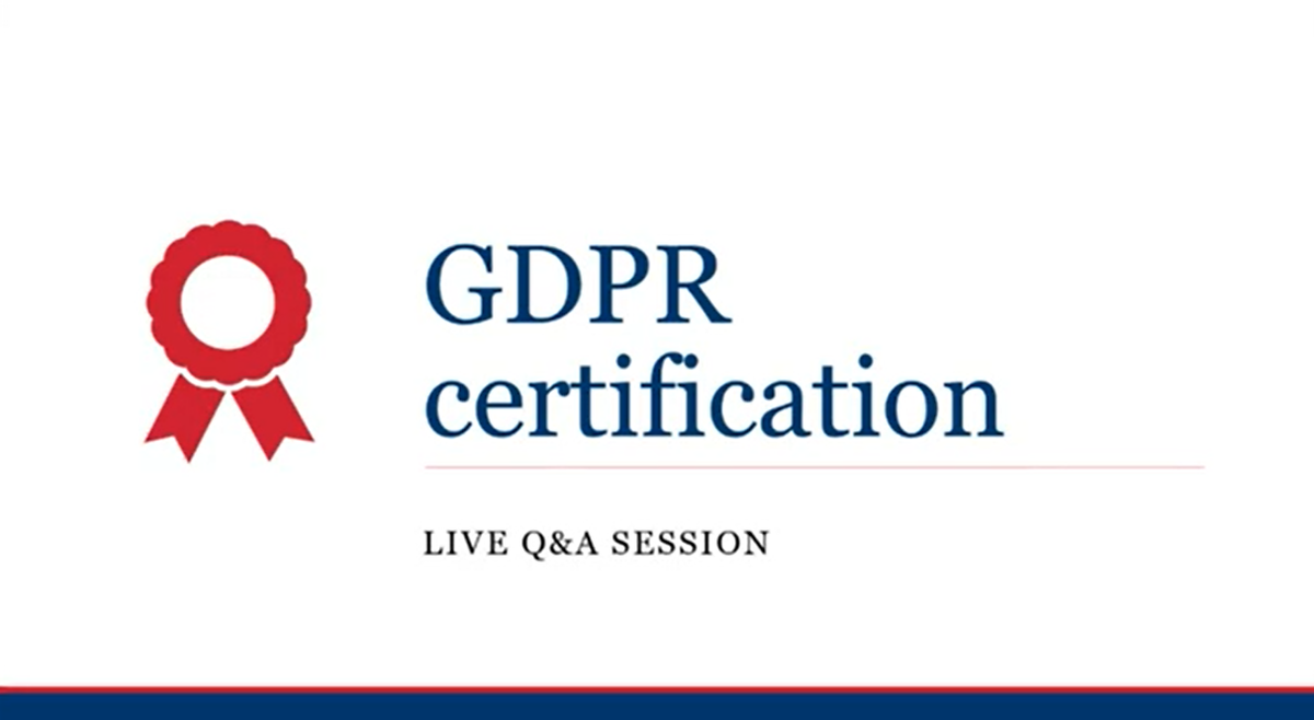 Missed last month's webinar on certification schemes? You can watch it here along with all of our recent webinars. 📺 ow.ly/HoBs50AwY2z