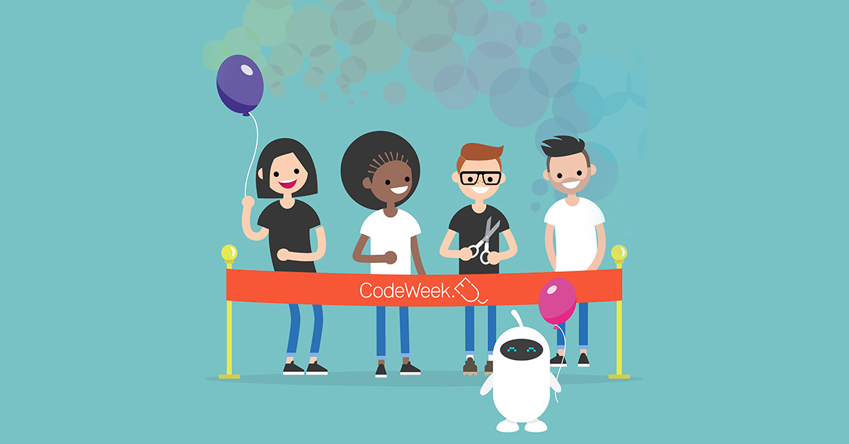 Join one of the greatest initiatives and inspiring communities in Europe, which in 2019 alone engaged 4.2 million people in 80+ countrie: https://t.co/5cBziHSuHP #EUCodeWeekMOOC https://t.co/ZVkz02TGTr