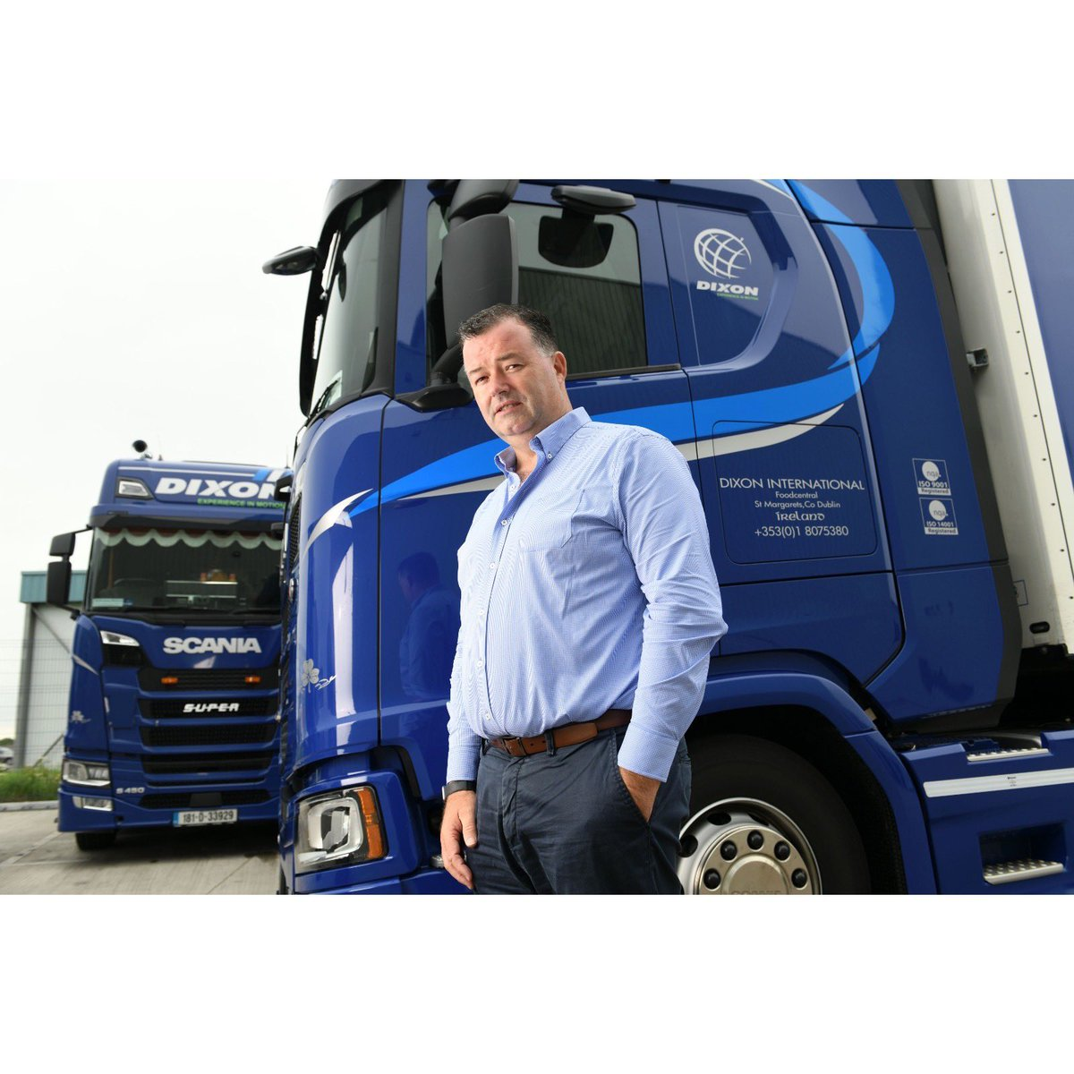 MD of @DixonTransport Michael Dixon sat down and chatted to the @thetimes about all things Covid-19, Brexit and the future of their company in the transport and logistics industry.https://t.co/c6JePeRaD5 https://t.co/0ZZDefMLP5