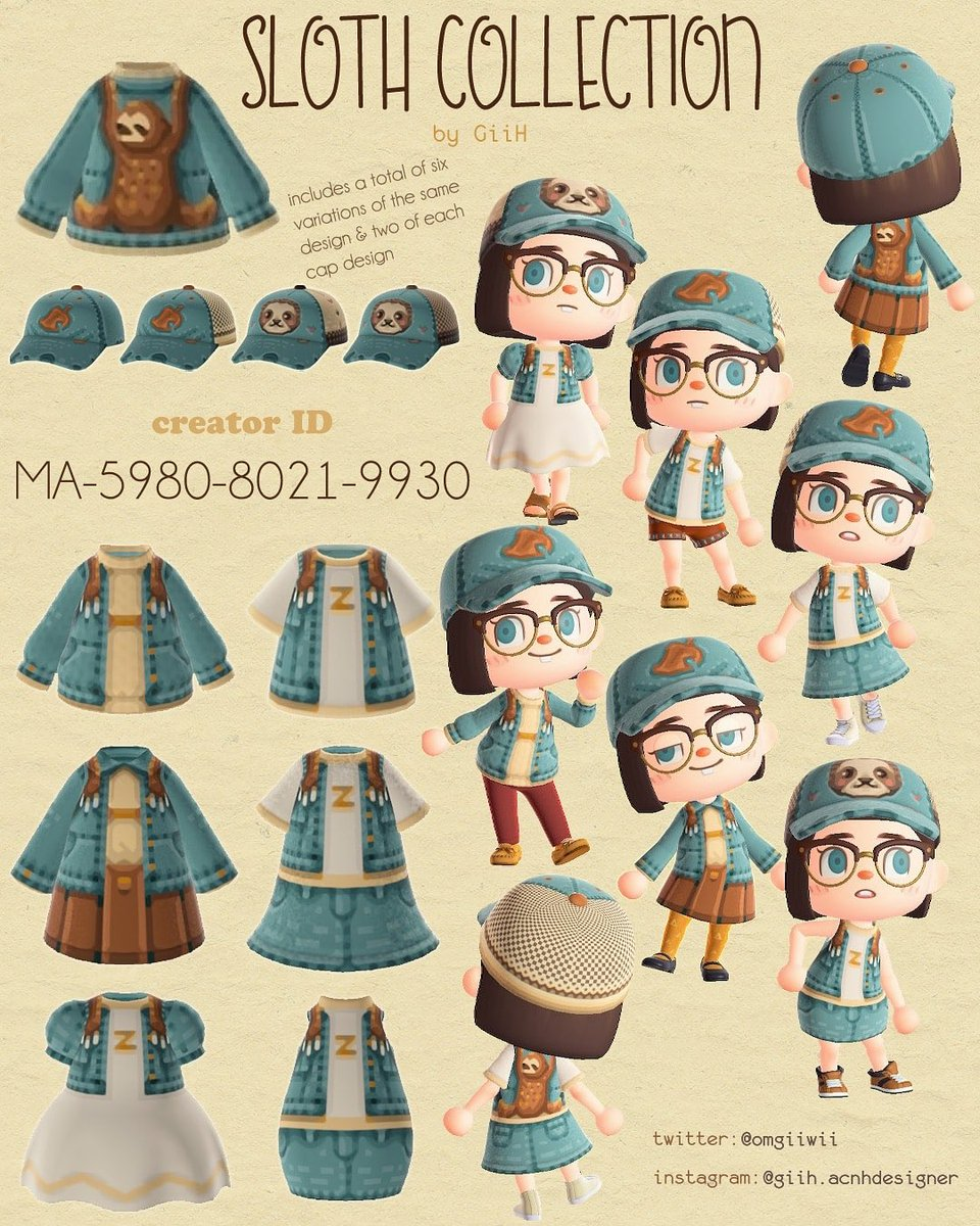 #マイデザまとめ🍂あつ森コレクション🍂ータグーたぬきち 素朴 帽子 服 森ガールNook Rustic Hat Clothes Mori Girl소박한 모자 의류 숲걸#mydesign #マイデザイン #マイデザ #マイデザインpro #あつ森 #동물의숲 #ACNHdesign #動物森友會 #どうぶつの森©︎↓