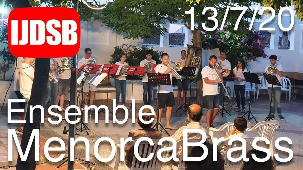 Disponible a IJDSB el concert de MenorcaBrass Ensemble de 13/7/20 https://instagr.am/p/CCoTgo3K2ns/pic.twitter.com/88KStxUfNc