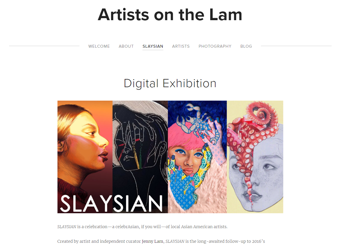 On the independent curator front: http://artistsonthelam.blogspot.com/p/exhibitions.html…  Current/ongoing online exhibition of the Midwest's Asian American artists: https://twitter.com/TheJennyLam/status/1244752245863956481…  #PortfolioDay #Chicago #ContemporaryArt #Curator #GalleryCurator #ArtCurator #ContemporaryCurator #ContemporaryArtCuratorpic.twitter.com/4pgus7QQFp