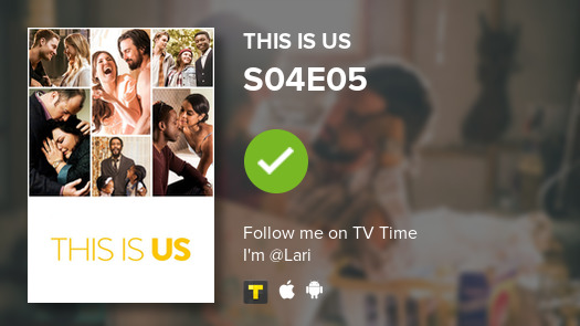 I've just watched episode S04E05 of This Is Us! #thisisus  #tvtime https://t.co/Fa92jwTtUP https://t.co/Uy3ALd8Z1Y