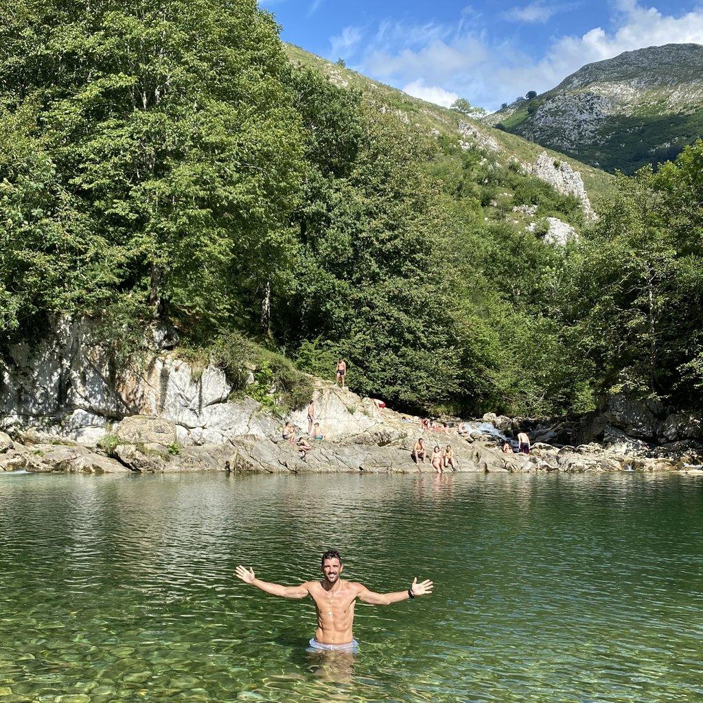 💙💛🗻 #asturiasparaisonatural #veranoenasturias #olladesanvicente #riodobra