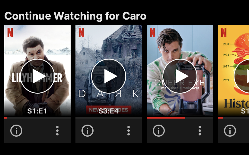 PSA: You can now remove a film or series from the Continue Watching row.   On your mobile device, simply click the three dots below the title and select Remove From Row. https://t.co/VycWTS2xks