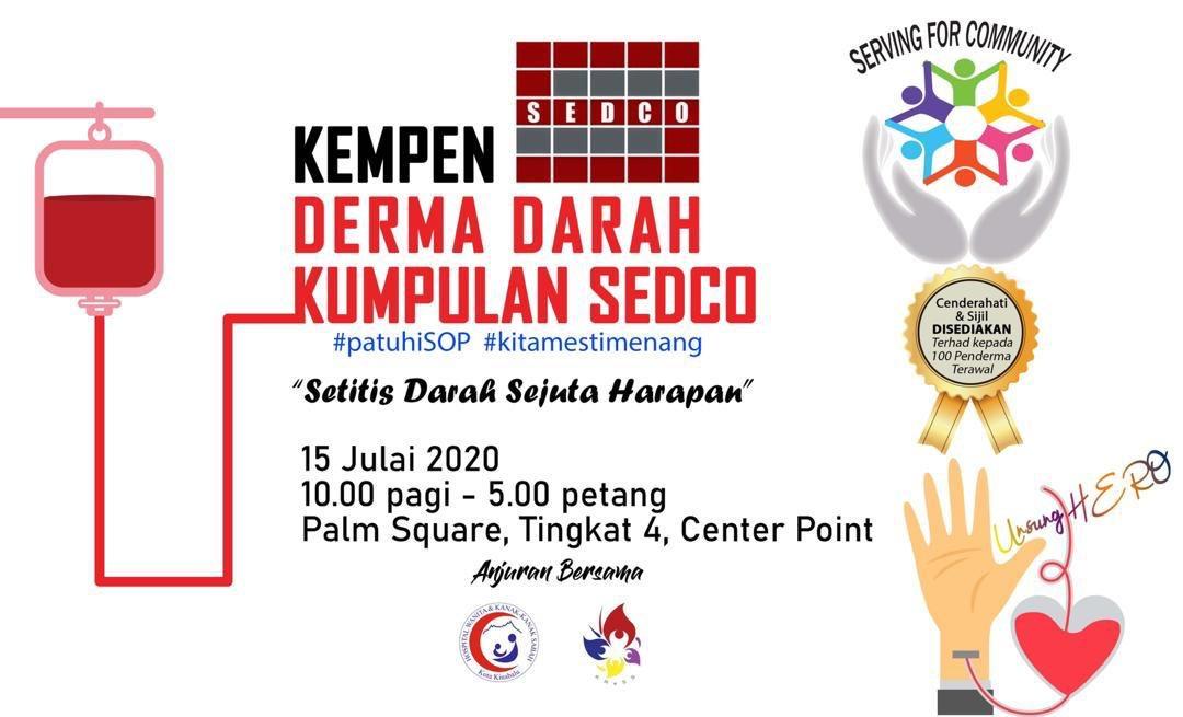 It's today!!! @kkcity tolong dlu viralkan. Let's save lives! 💪🏻 https://t.co/PCEKhQEIxC