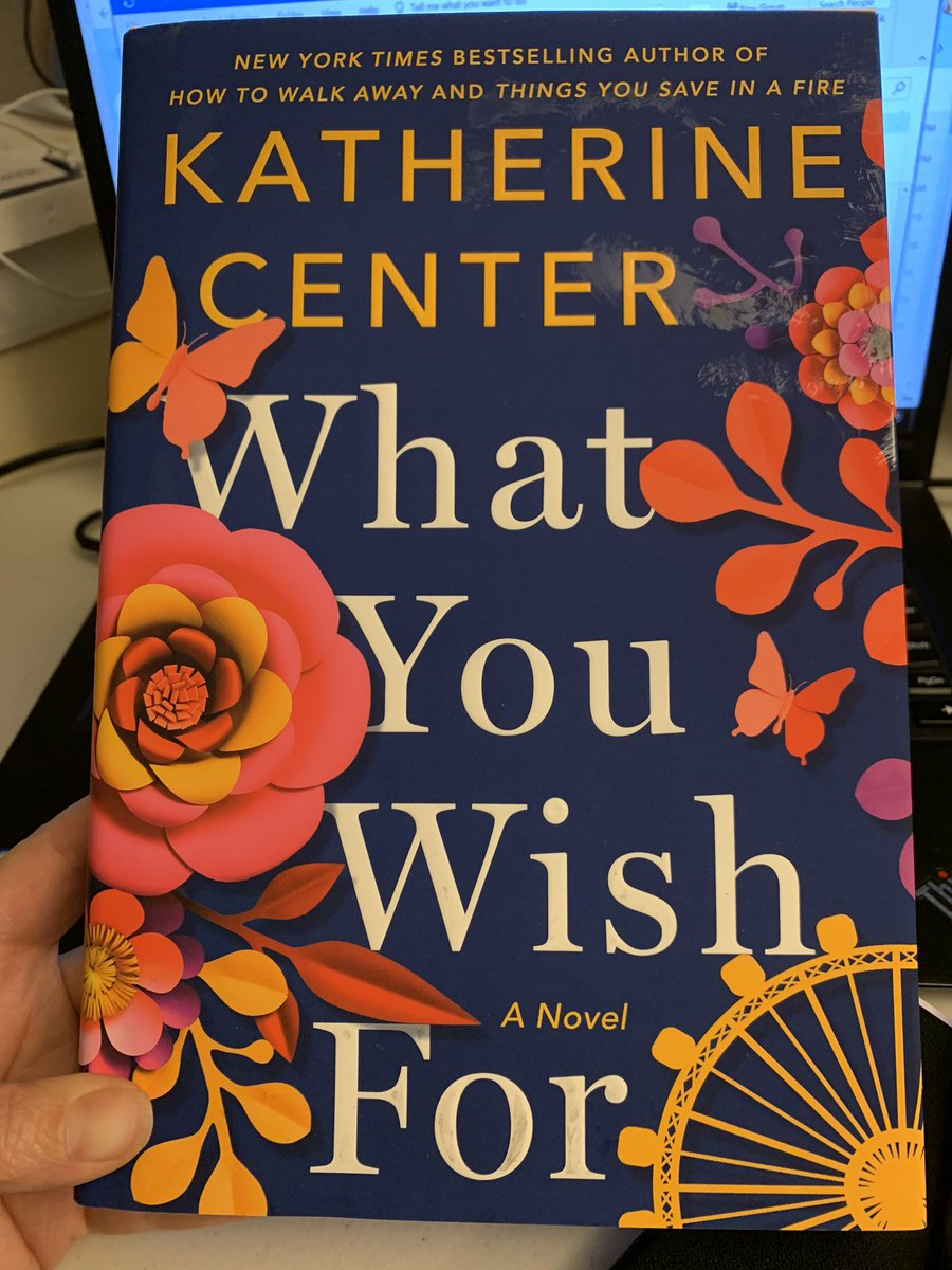 It's here! Can't wait to read @katherinecenter's latest #booknerd #soexcited pic.twitter.com/JkJFMJCzVZ
