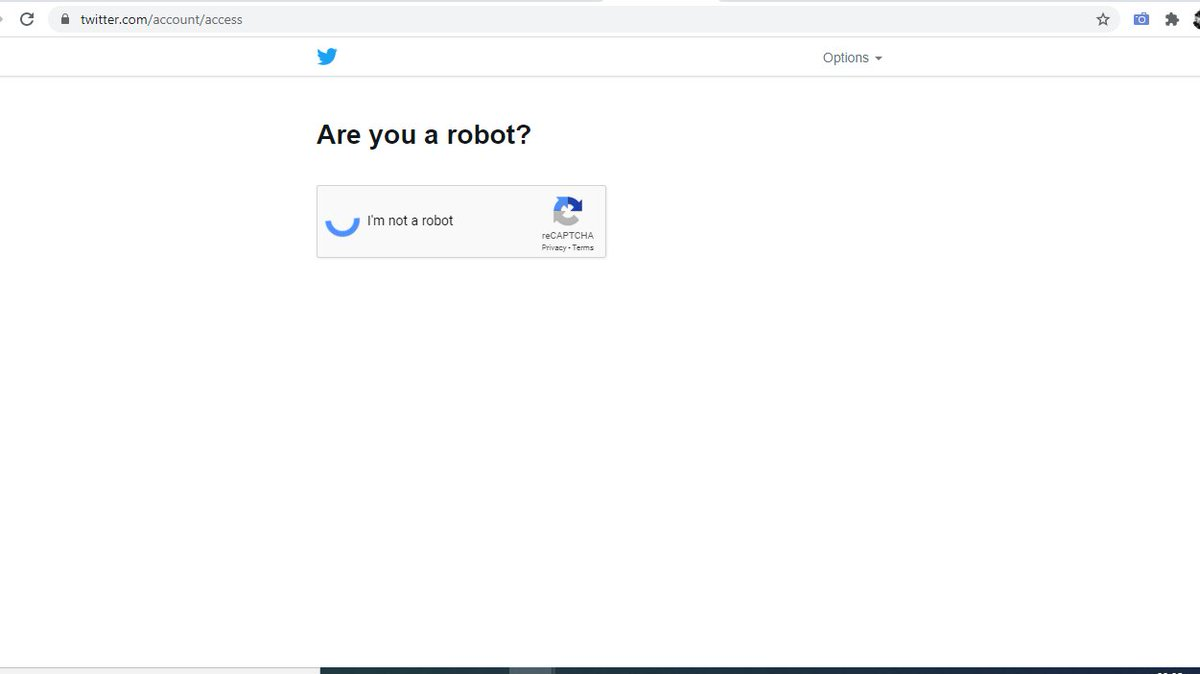 Why is the TechWorld so afraid of Robots!!! Is there a war brewing   #FunnyTech #AreYouARobot  :)pic.twitter.com/ChySkhg8qo