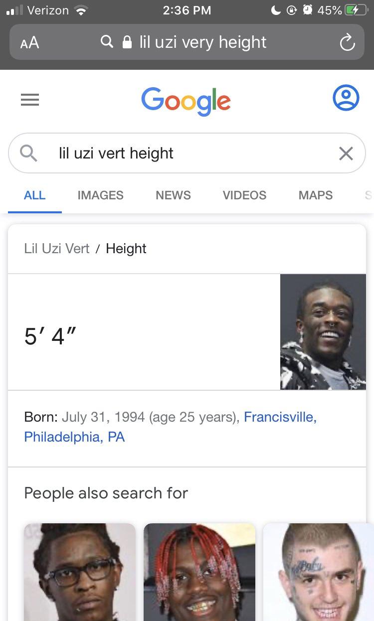 Silk On Twitter The Fact That Lil Uzi Taller Than Tory Lanez Got Me Cryin Rn
