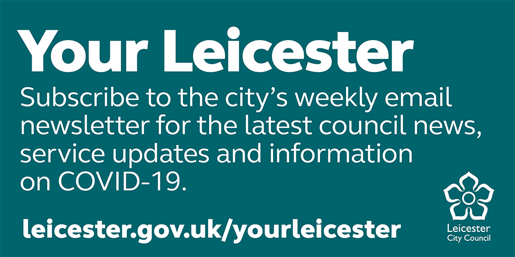 Keep up to date with the latest #Coronavirus information in #Leicester on the @Leicester_News #YourLeicester newsletter. Subscribe and read the latest newsletter here: leicester.gov.uk/yourleicester