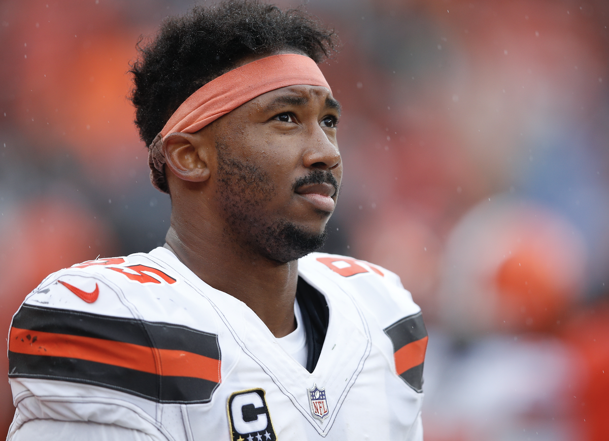 Browns and Myles Garrett are closing in on a huge extension 💰 5 years $125M (via @RapSheet)