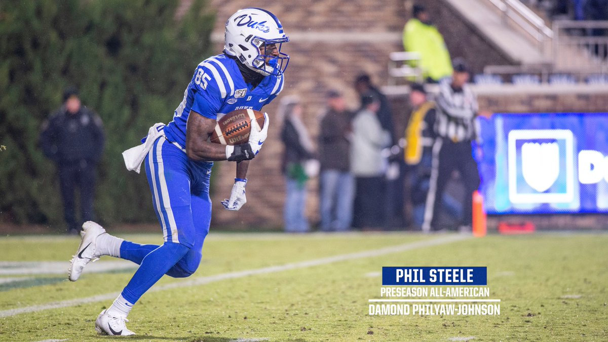 ANOTHER ONE  @damond_123 reeling in another Preseason All-America honor, this time courtesy of @philsteele042 🇺🇸  🔗   #GoDuke