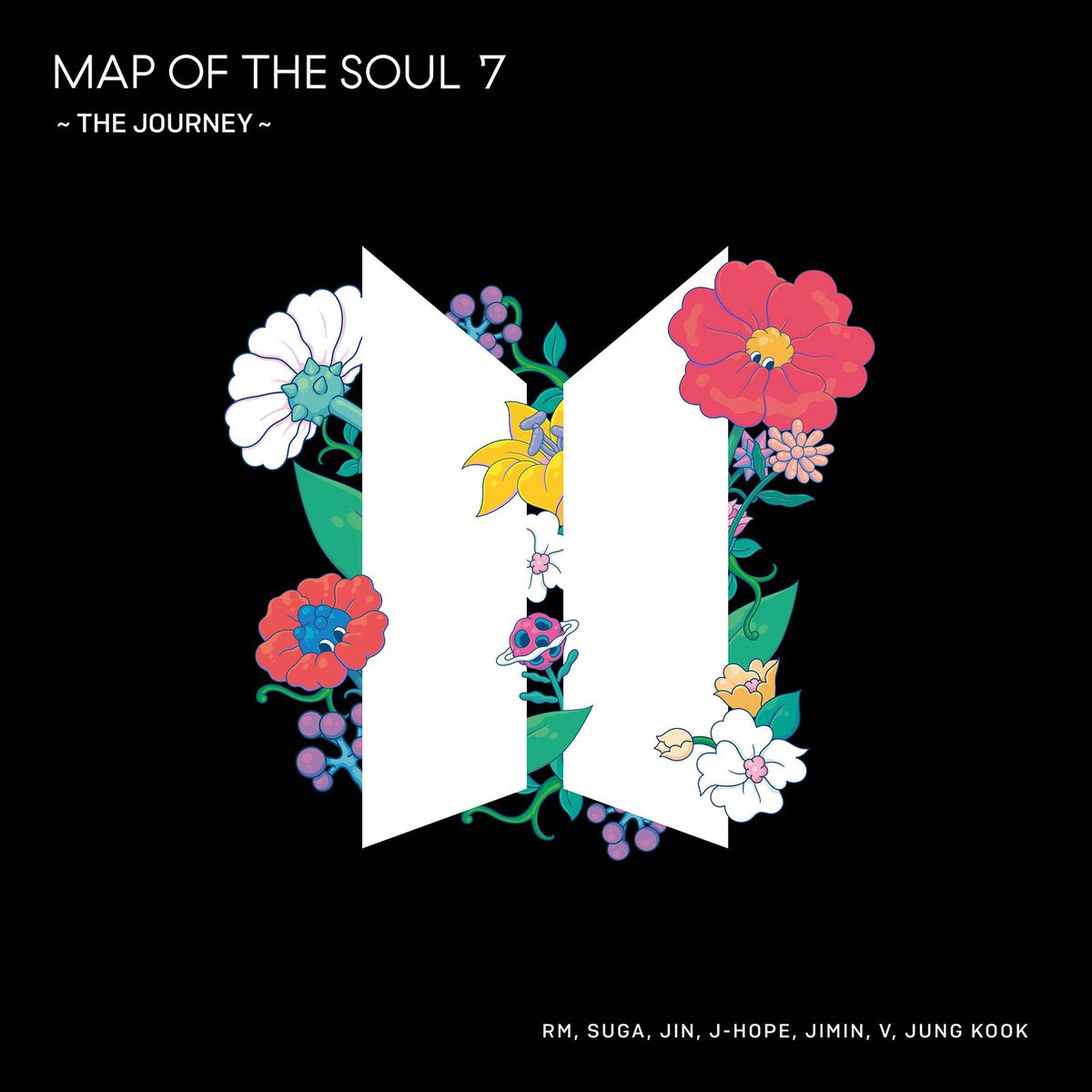 #MapOfTheSoul7TheJourney