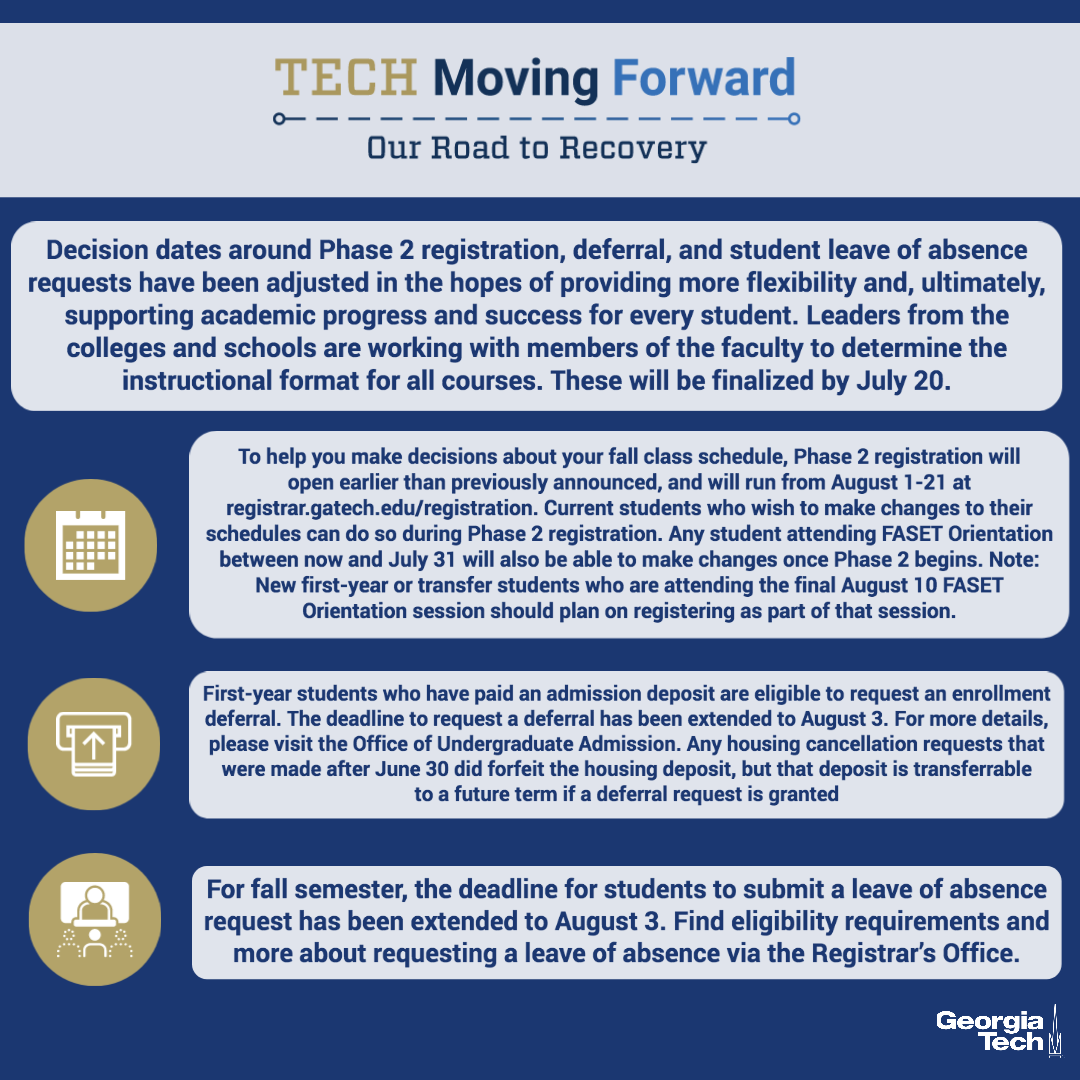 Georgia Tech On Twitter Updated Information For International Students Housing Accommodations And Registration For More Information Visit Https T Co Vp1ir9hki9 Https T Co Le1qanqn78