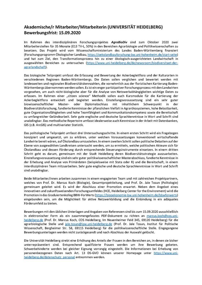 Bewerbung Universitat Hohenheim 6