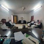 Image for the Tweet beginning: زيارة جمعية البر الخيرية بمركز