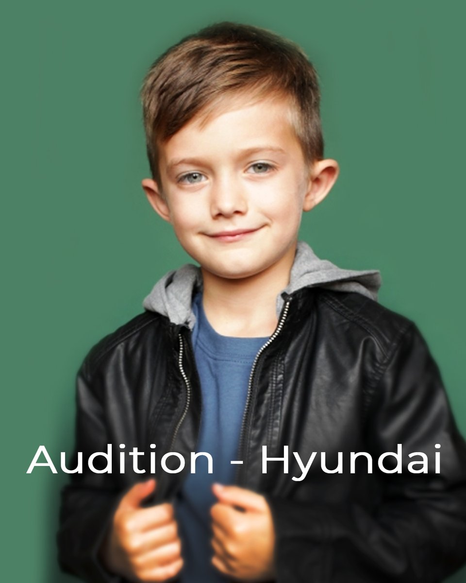 Congratulations to Sam J. for getting an opportunity to #audition for Project- Hyundai 🎬🤩 . . . #model #torontomodel #modelingagency #talentagency #actingagency #actor #talent #torontoactor #torontoagency #torontomodels  #kidsmodeling #kidsacting #kidstalenttoronto https://t.co/OjxCGYSDhe