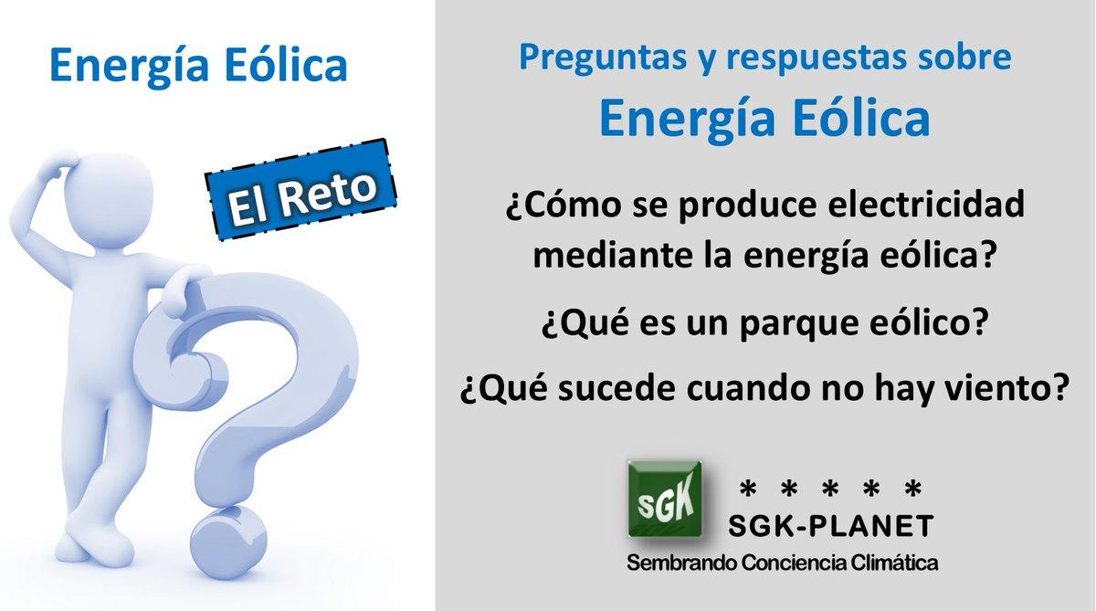 Preguntas de #EnergíaEólica Prueba tus conocimientos y responde antes de hacer clic sgerendask.com/preguntas-frec…… SGK-PLANET #CambioClimatico #EmergenciaClimática #MedioAmbiente #Sostenibilidad #CalentamientoGlobal #Amazon #EnergíaRenovable #COP25