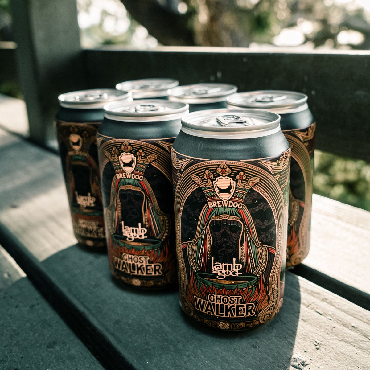 """A few months back, we released our alcohol free IPA """"Ghostwalker"""". Have you given it a try yet? Get your case of @lambofgodbeer now, available everywhere in the U.S through @BrewDogUSA. Order at https://t.co/RbDs9qWEmn. https://t.co/s3RyQLdXBf"""